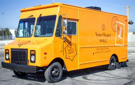 tours mail veuve clicquot mail truck tours the us extravaganzi