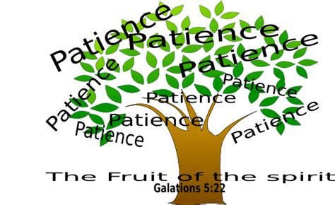 fruit of the spirirt clip at clker vector clip patience tree clip at clker vector clip
