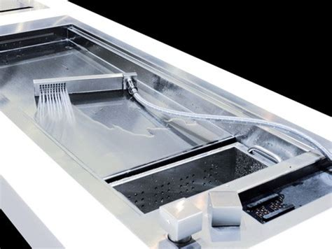 shallow kitchen sink shallow prep sink by glem design a kitchen