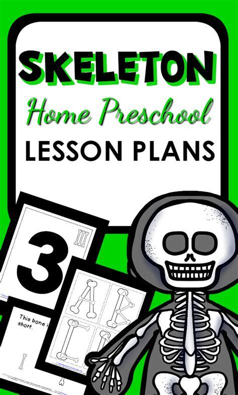 skeleton theme home preschool lesson plan home preschool 101