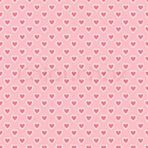 texture heart pattern heart shape vector seamless pattern tiling pink color