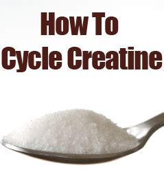 creatine 8 week cycle creatine cycling musclehack