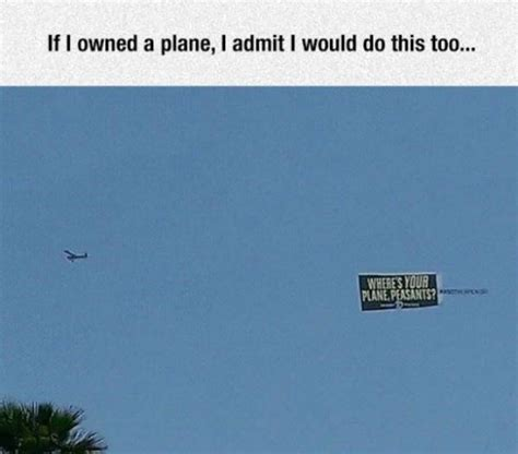 blue joke if i owned a plane
