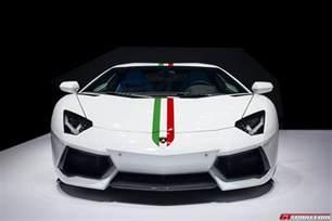 Lamborghini Italy Official 2014 Lamborghini Aventador Nazionale Gtspirit