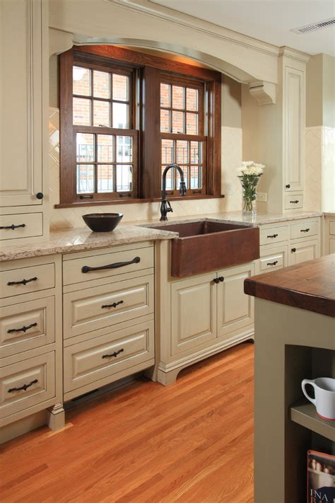 copper sink white cabinets baroque copper sink method minneapolis traditional kitchen