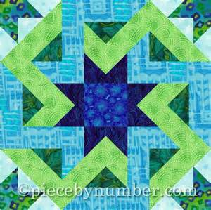 octagonia paper by piecebynumber quilting pattern