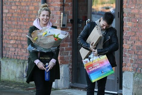 Gemma Atkinson And Gorka Marquez Are All Smiles As They Re