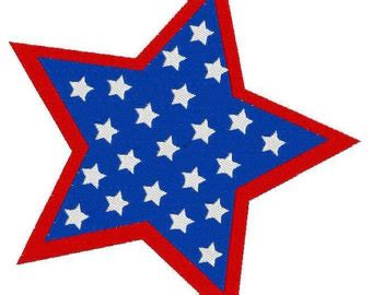 printable blue star banner items similar to bbq blue striped pennant with stars