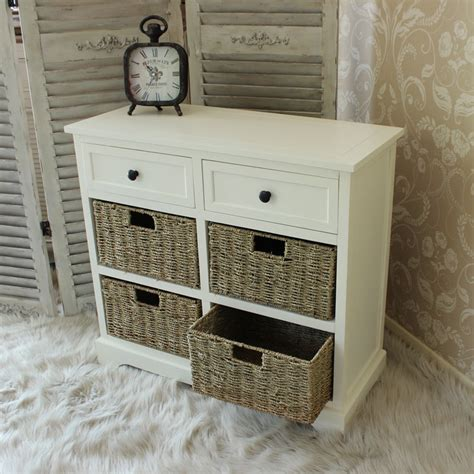 bathroom basket drawers ivory wooden basket chest of drawers wicker storage unit