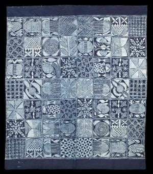 pattern making nigeria japanese quot boro quot made from recycled indigo dyed cloth in