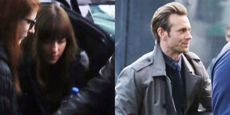 fifty shades darker filming begins dakota johnson begins filming fifty shades darker