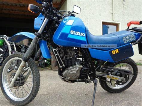 Dr 600 Suzuki 1986 Suzuki Dr 600 S Moto Zombdrive