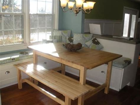 tables with benches for kitchens 14 best images about kitchen bench seating withstorage on