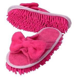 slipper dusters new microfiber slipper shoes footwear genie duster