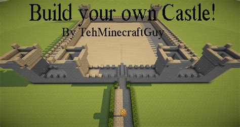 build your online build your own castle minecraft project
