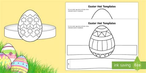 easter hat template printable 17 best images about veligden on maze chicken
