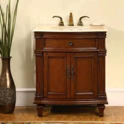 walnut finish bathroom vanity