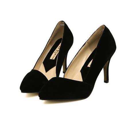 d orsay high heels vintage black suede high heel d orsay court shoes