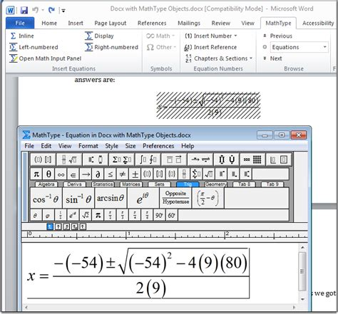 convert pdf to word equations accessible ms word docs office of accessible education