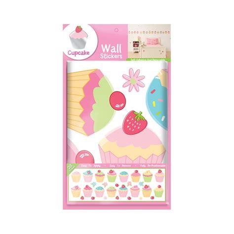 stikarounds wall stickers fun4walls cupcake wall stickers stikarounds ebay