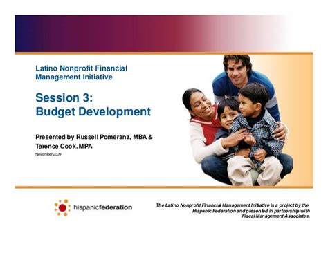 Mpa Or Mba For Nonprofit by Nonprofit Budget Development
