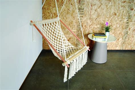 Hanging chair 183 extract from diy furniture 2 by christopher stuart 183 how to make a chair