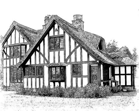 drawing of houses house portraits online