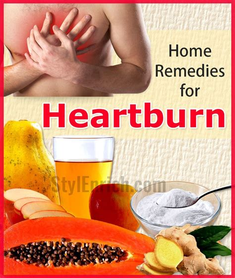 Heartburn Home Remedy by Home Remedies For Heartburn That Work Amazingly