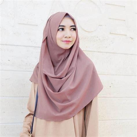 model hijab pashmina instan kreasi gaya simple pesta