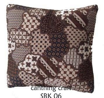 Bantal Menyusui Ready Stok 3 canthing craft sarung bantal batik ready stok