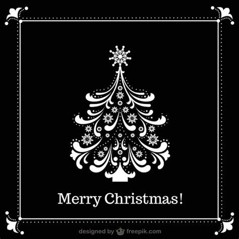 imagenes de navidad en negro y blanco 193 rbol de navidad blanco y negro descargar vectores gratis