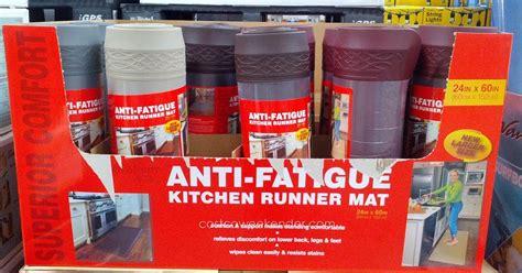 Anti Fatigue Kitchen Mats Costco by Novaform Home Anti Fatigue Kitchen Runner Mat Costco