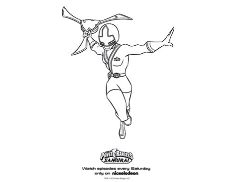 free power rangers samourai coloring pages coloring page birthday party pink samurai power