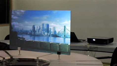 The In Shops See Your Rear On Screen Now by Rear Projection Acrylic Panel Surp Mov