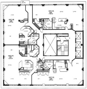 small luxury house floor plans luxury lofts in new york floor plans the lofts 1060 fulton pacific southwest