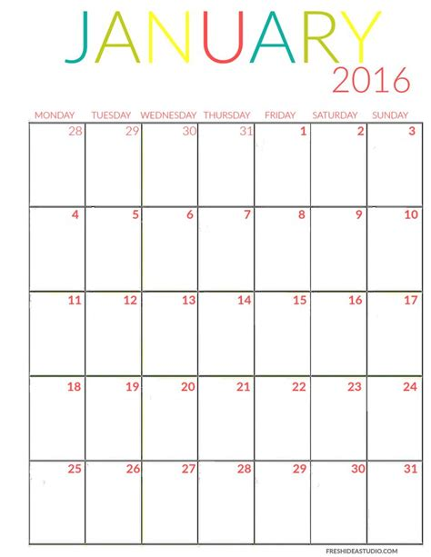 printable calendar ca 2016 printable calendar 2016 calendar