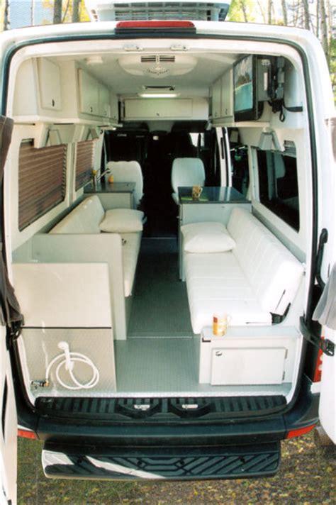 sprinter dyo  rb dinettes sportsmobile custom camper vans