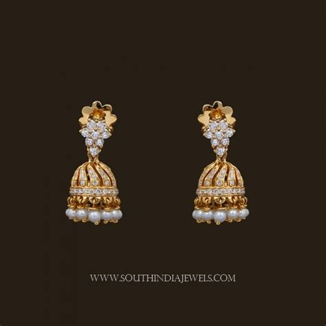 light weight gold earrings designs with price earrings designs in gold jhumka with weight gold jhumkas