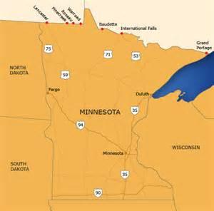 minnesota border map tbwg