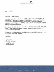 Support Letter To Immigration Judge Cover Letter To A Friend For A