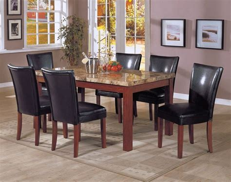 granite dining table set 17 amazing granite dining room table designs