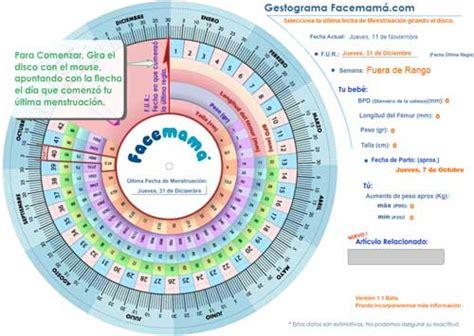 calcular semanas de embarazo calculadora del embarazo calculadora de embarazo gestograma facemama com