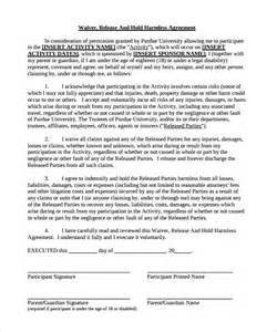 indemnification clause template hold harmless agreement 29 documents in pdf