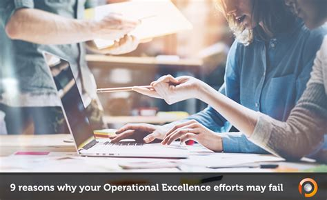 9 Reasons Your Diet May Fail by 9 Reasons Why Operational Excellence Opex Can Fail