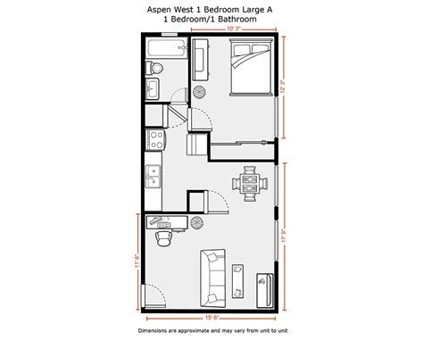 500 Sq Ft Apartment Layout