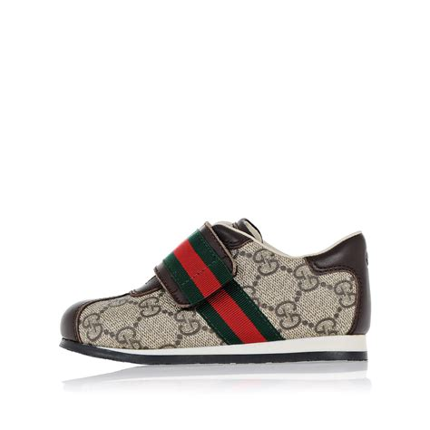 gucci shoes kid gucci child unisex leather and fabric shoes spence