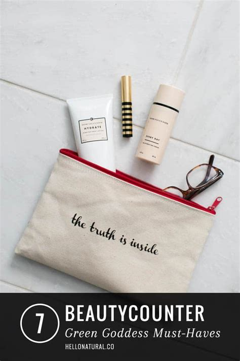 7 Must Haves From The Shop by 7 Green Goddess Beautycounter Must Haves Hello Glow