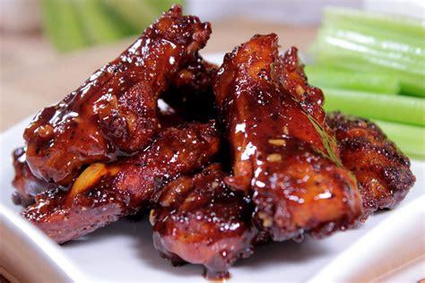 smoky bbq chicken wings marinated kilo