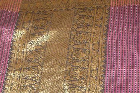 Songket Palembang Motif Cantik Manis Rebung Maroon palembang bumi sriwijaya motif songket palembang