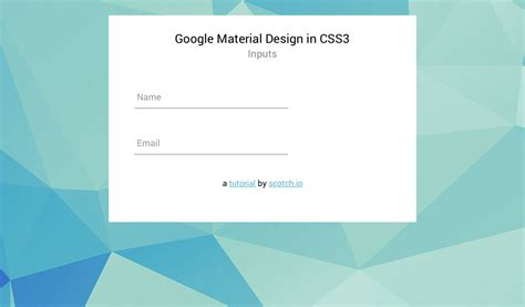 material design wave effect css google material design input boxes